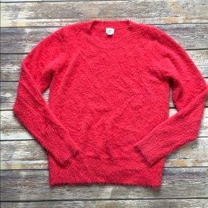 A New Day Fuzzy Crewneck Sweater